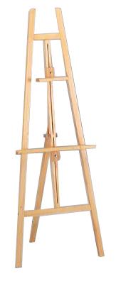 Noleggio cavalletto da pittore in legno abete a milano for Cavalletto pittore