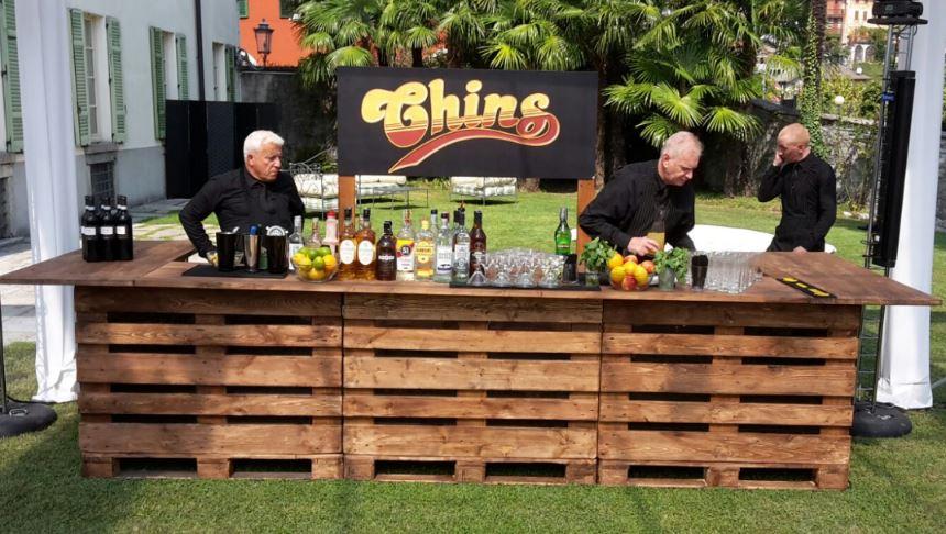 Noleggio Bancone Bar Pallet a Milano