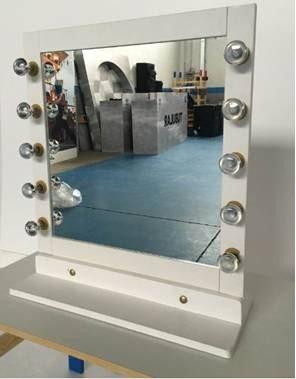 Noleggio specchio make up a milano - Specchio make up ...