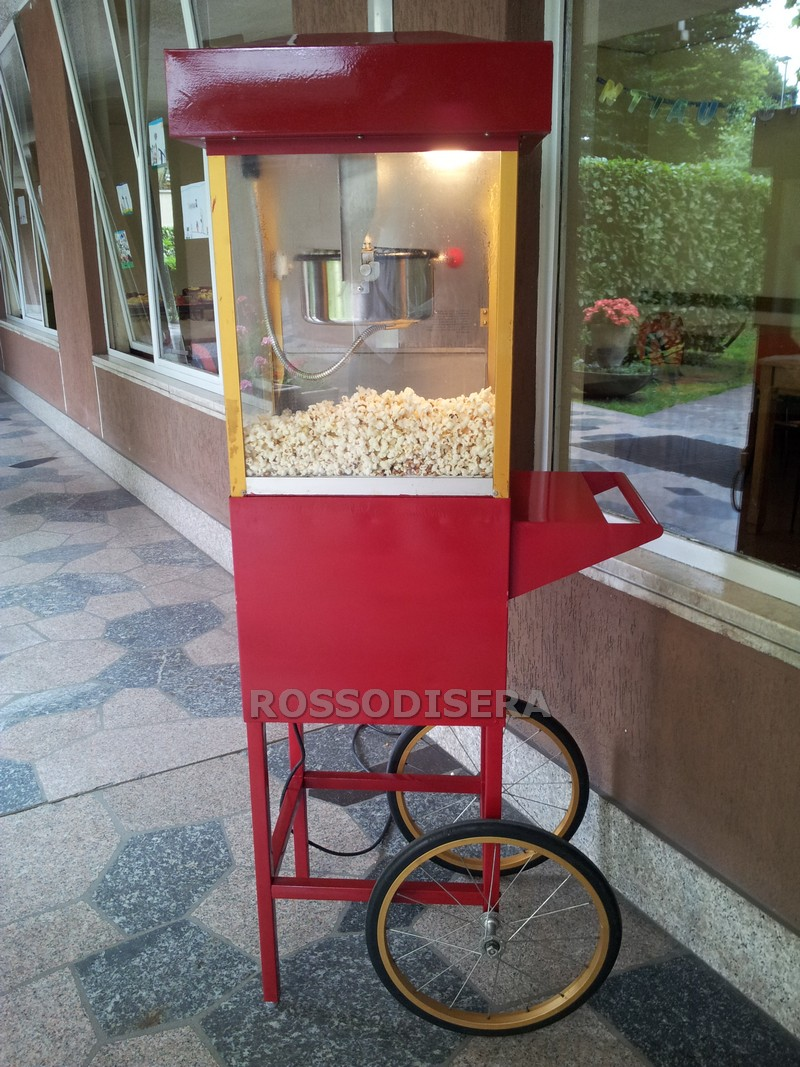 Carrettino pop corn