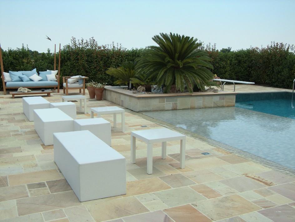 Noleggio arredi lounge per esterno a milano - Arredi per esterni design ...
