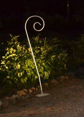 noleggio decorazioni per giardino in ferro a milano