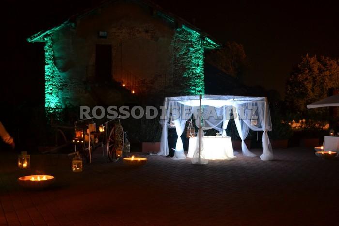 Noleggio gazebo luminoso a milano for Noleggio arredi per eventi milano