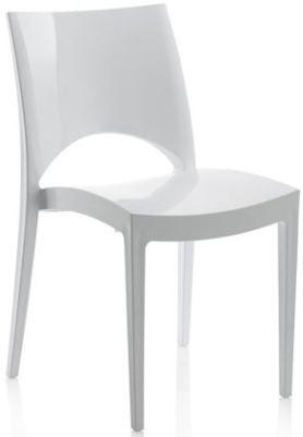 Noleggio sedie chantal bianche a milano for Sedie bianche per cucina