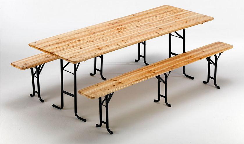 Noleggio tavoli e panche da birreria a milano - Panche e tavoli da esterno ...