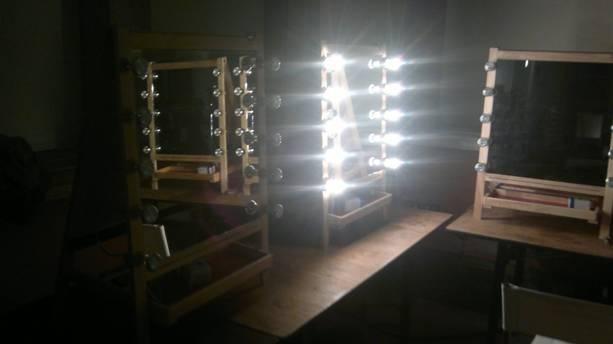 Noleggio arredi e attrezzature per eventi - Specchio make up ...