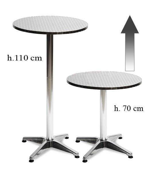 Noleggio tavoli mangia inpiedi bistrot alluminio a milano - Noleggio tavoli e sedie per feste catania ...