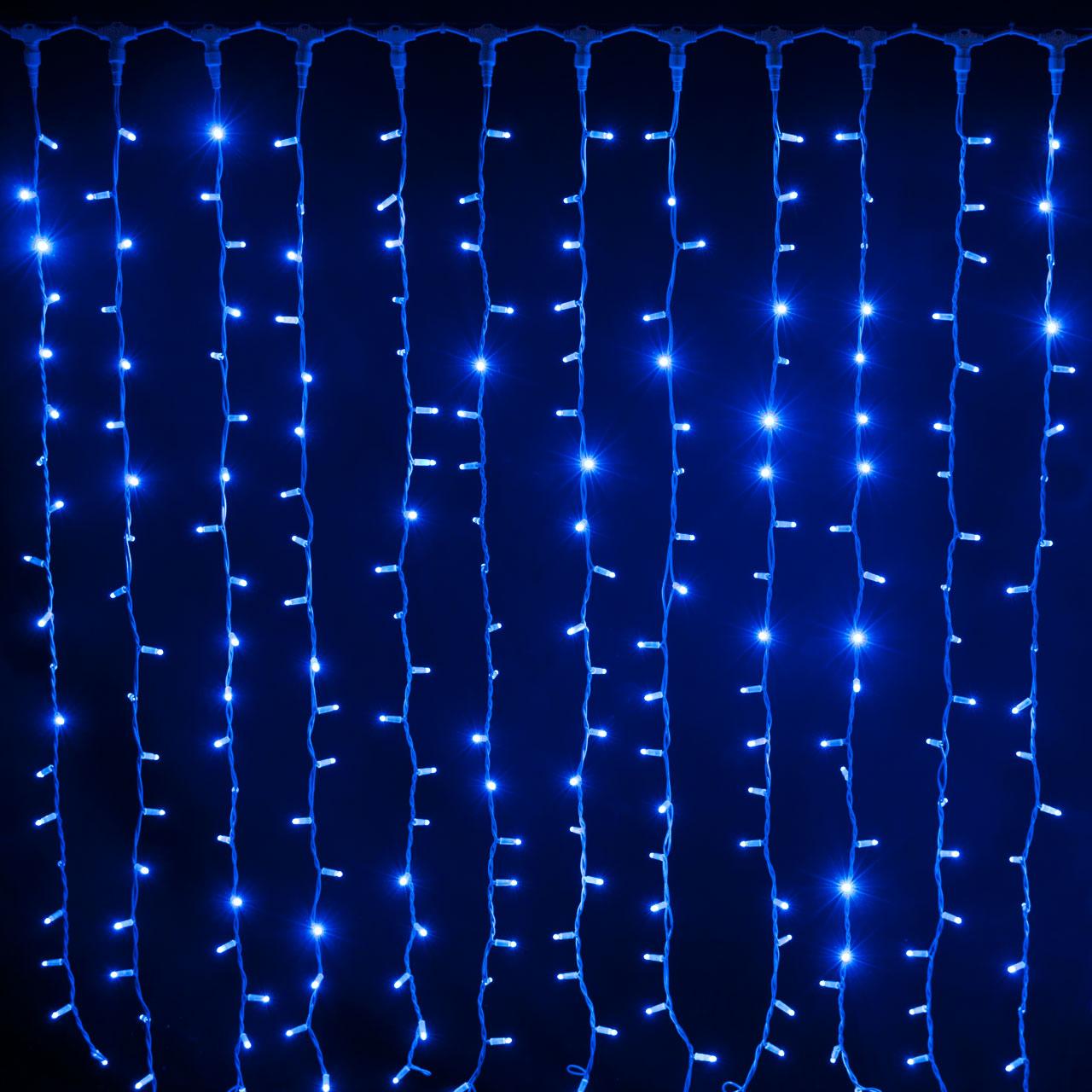 Tende Luminose Da Esterno.Noleggio Luci Tenda Luminosa A Led Blu 2 X 1 2 Mt A Milano