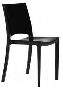 Noleggio sedie bside nere a milano for Sedie nere ecopelle