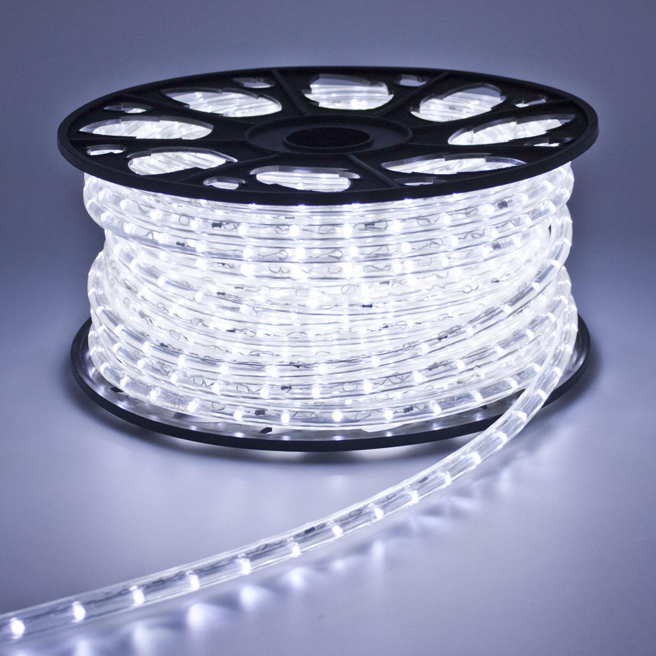 Noleggio luci tubo luminoso led bianco freddo a milano for Tubi luminosi led